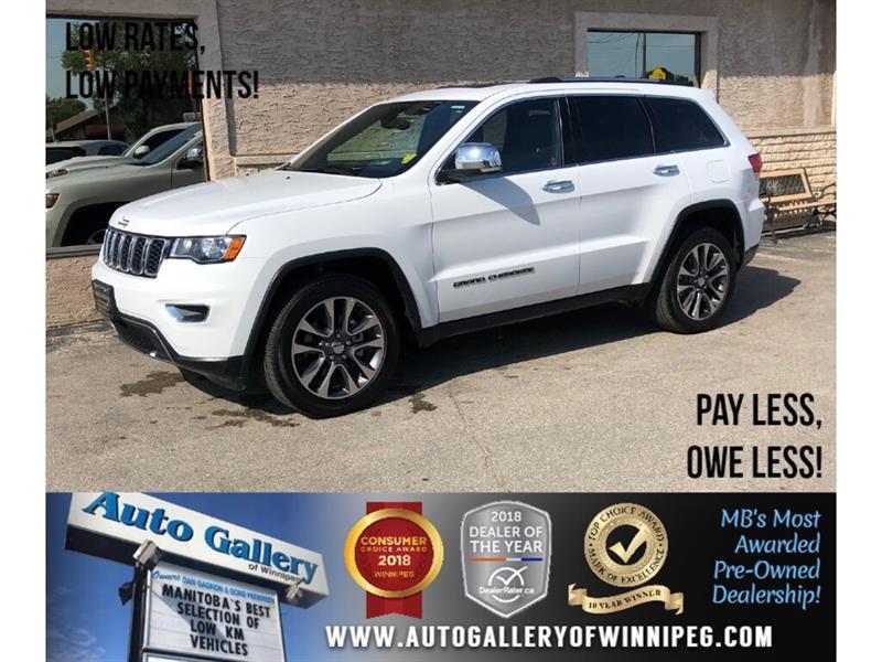 2018 Jeep Grand Cherokee Limited *AWD/Htd Lthr/Navi/V6 #23921