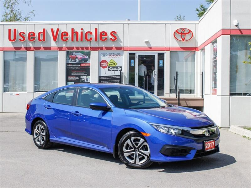 2017 Honda Civic One Owner Vehicle, MINT condition !! LX #9240068A