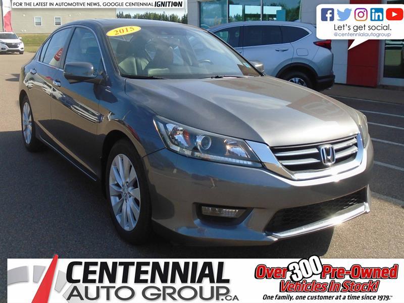 2015 Honda Accord Sedan EX-L | Moon Roof | Heated Seats | Backup Camera |  #10055A