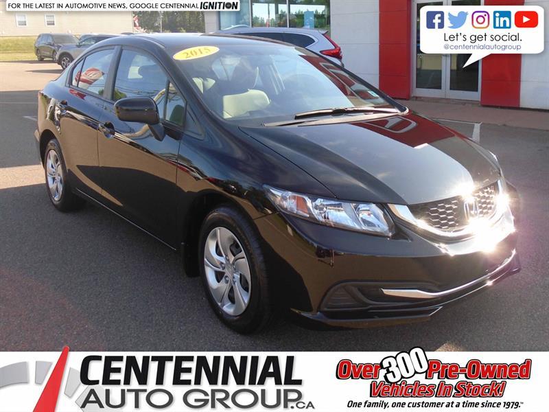 2015 Honda Civic Sedan LX | Backup Camera | Heated Seats | Bluetooth|  #10105A