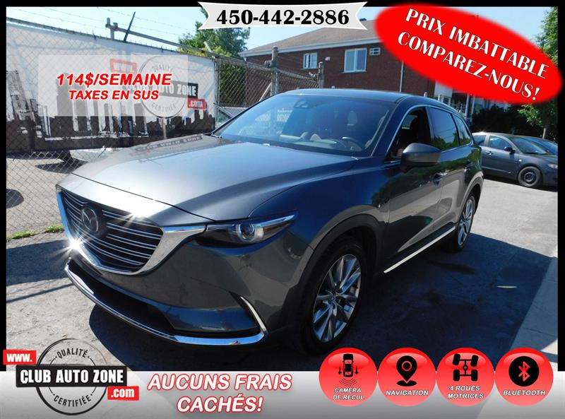Mazda CX-9 2017 AWD SIGNATURE 7 PLACES AUTOMATIQUE #H0136226