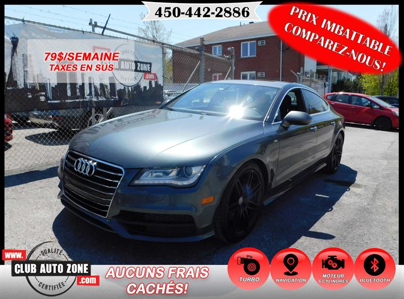 Audi A7 2012 PREMIUM AWD AUTOMATIQUE BLUETOOTH #CN122897