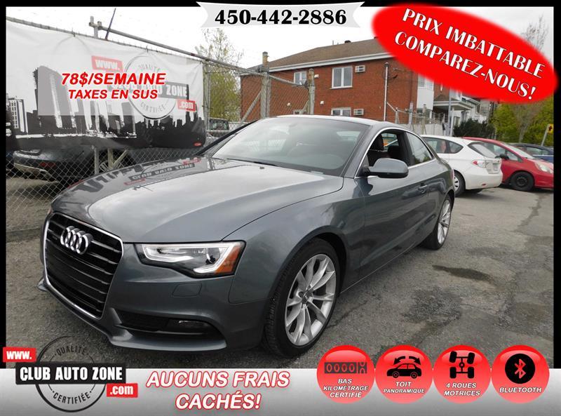 Audi A5 2013 PREMIUM PLUS COUPÉ TOIT PANORAMIQUE #DA026415