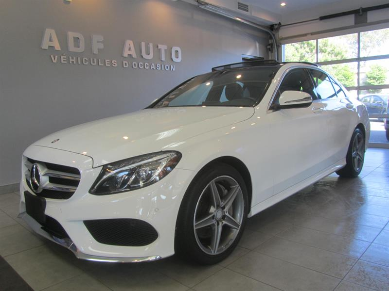 2016 Mercedes-Benz C-Class C300 4MATIC AMG PACKAGE #4496