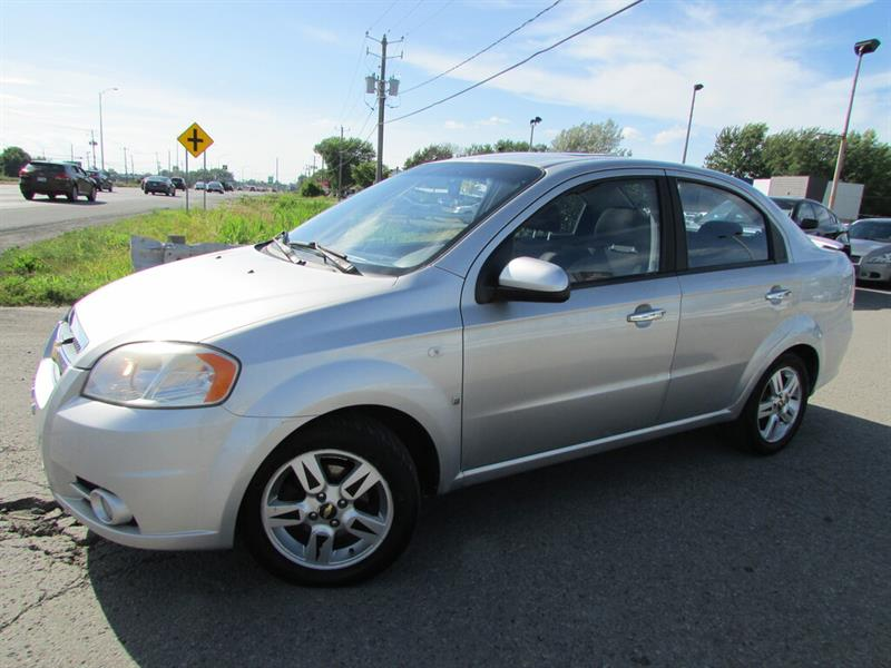 Chevrolet Aveo 2007 LT A/C CRUISE TOIT OUVRANT!! #4659A