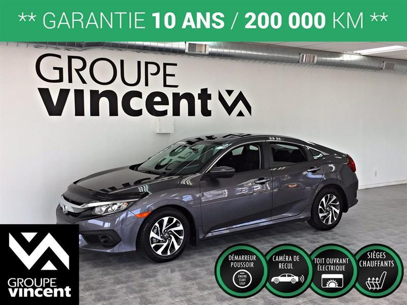 Honda Civic 2017 EX ** GARANTIE 10 ANS ** #K4808H