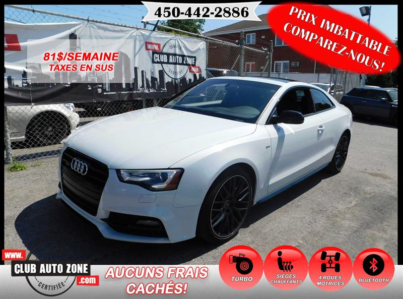 Audi A5 2016 COUPÉ SLINE TECHNIK COMPETITION #GA005780