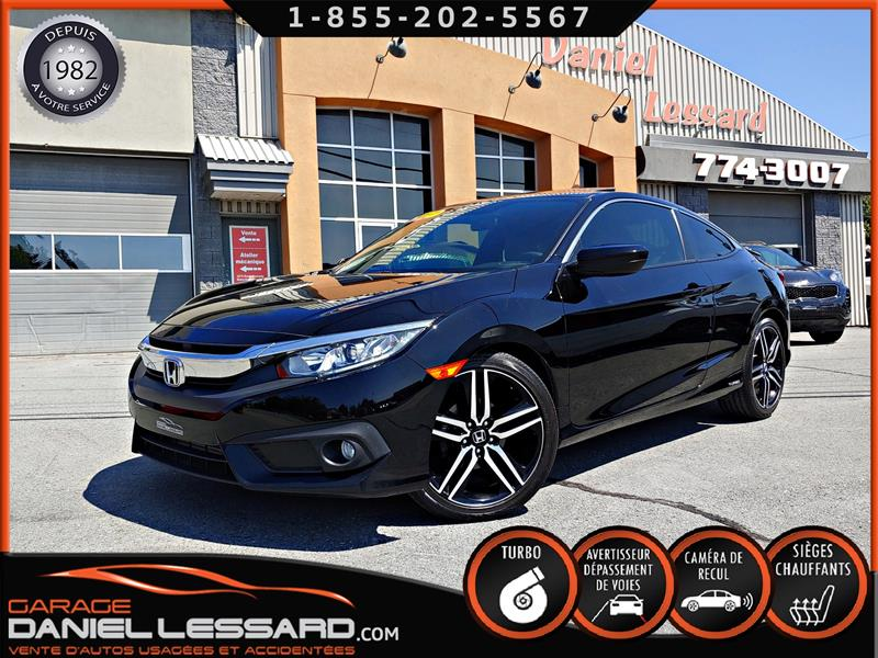 Honda Civic Coupé 2017 2DR EX-T, TOIT, CAM REC ET ANGLE, SENSING MAG 19  #79485