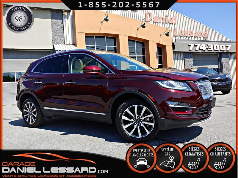 Lincoln MKC 2019 RESERVE, 2.0 TURBO,CUIR, TOIT PANO, GPS, FULL !! #99464