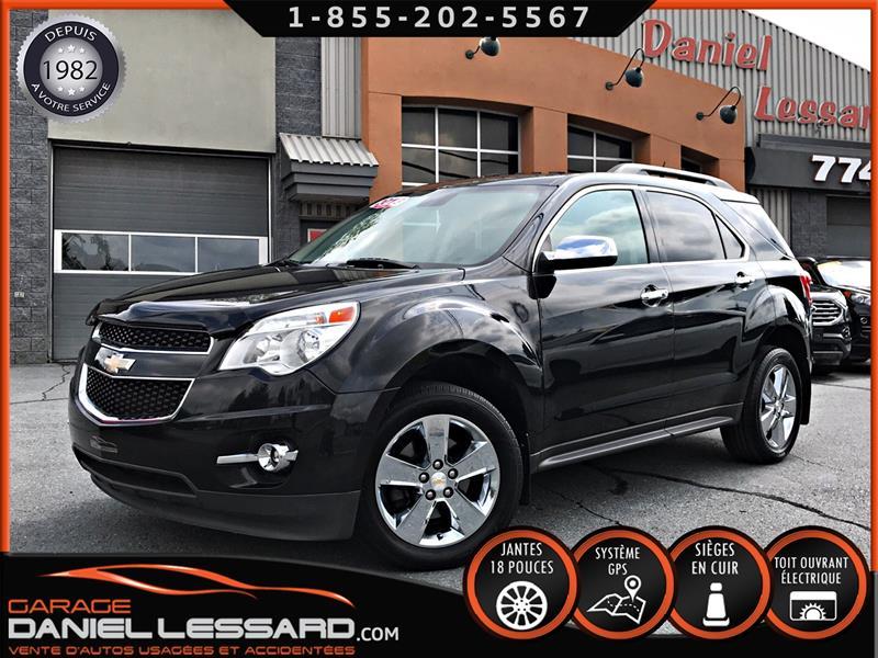 Chevrolet Equinox 2013 2LT T.A, GPS, CUIR, TOIT OUVRANT, CAMÉRA ET BIEN + #39480