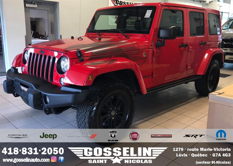 Jeep Wrangler Unlimited 2017 Rocky Mountain *Ltd Avail** #D4675A