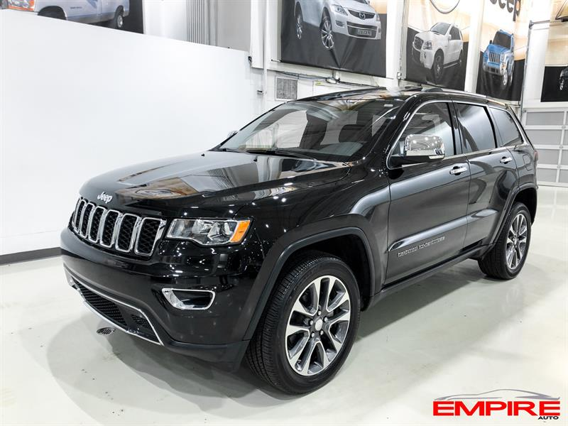 Jeep Grand Cherokee 2018 LIMITED TOIT NAV 4WD #A7234