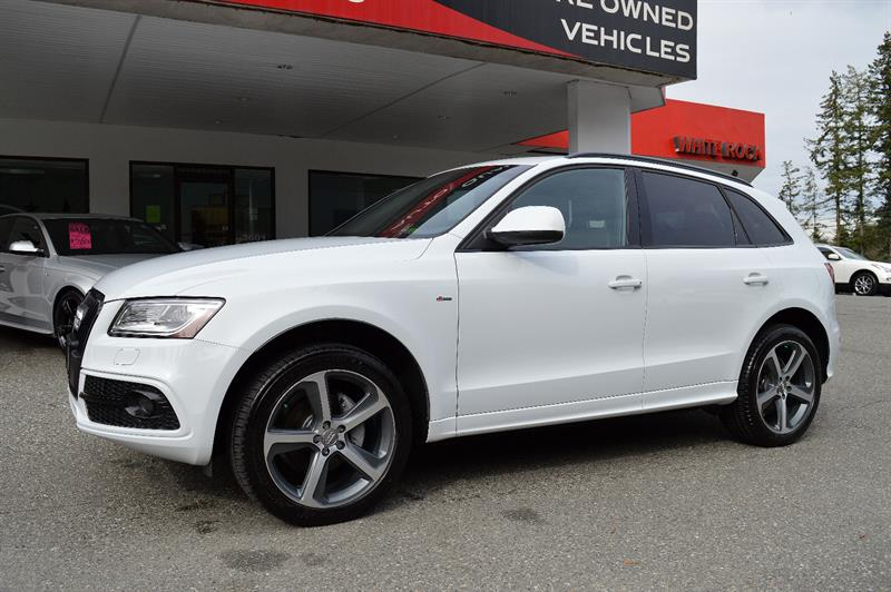 2015 Audi Q5 Quattro 2.0T Technik S-LINE *Zero Accidents #CWL8777M