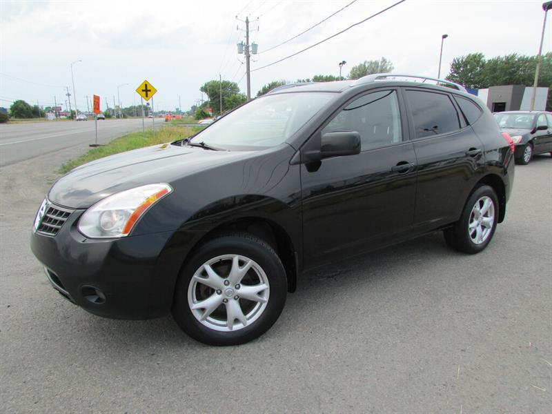 Nissan Rogue 2008 AWD SL A/C CRUISE TOIT OUVRANT!!! #4520A