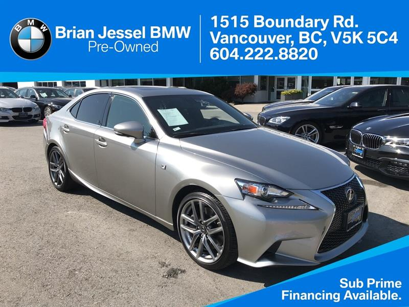 2016 Lexus IS 300 AWD #BP8507
