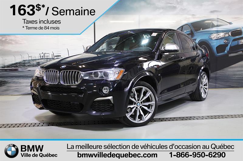 BMW X4 2017 M40i #U5548