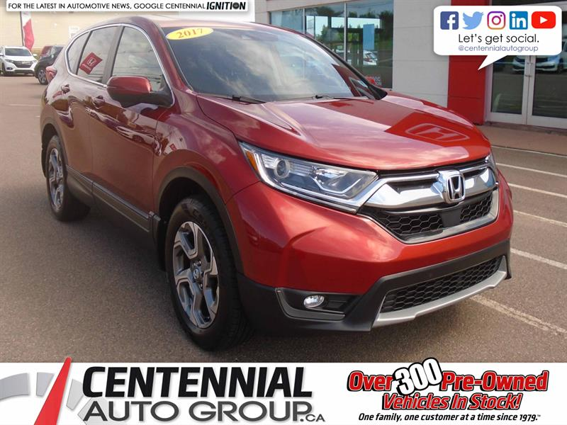 2017 Honda CR-V EX | AWD | Moon Roof | Backup Camera | Bluetooth | #9818A