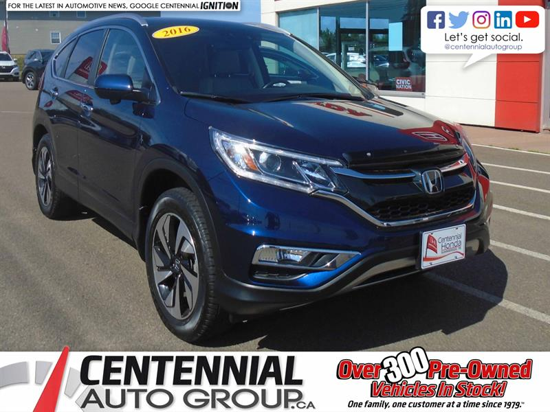 2016 Honda CR-V Touring | AWD | NAVI | Moon Roof | Heated Seats |  #10093B