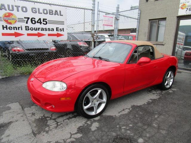 Mazda MX-5 Miata 2002 Convertible 2 Portes Automatique #19-1349