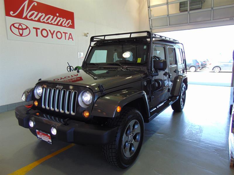 2017 Jeep Wrangler Unlimited 4WD Sahara #21425A