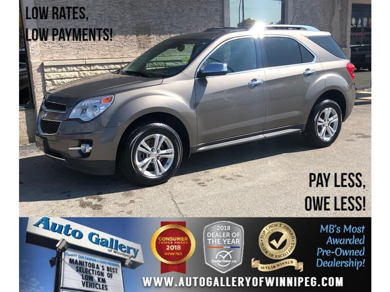 2012 Chevrolet Equinox 2LT *Navi/B.tooth/Back.Cam/Roof/Htd Seats #23806A