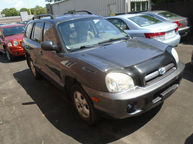 Hyundai Santa Fe 2005 GL V6 2.7 LITRE #121112