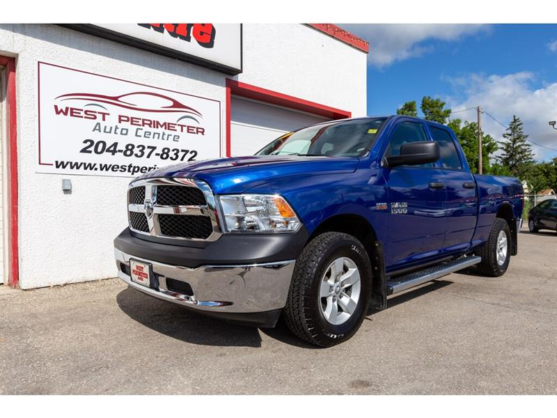 2017 Ram 1500 ST 4X4 Quad Cab **Bluetooth*B/Up Cam** #5585