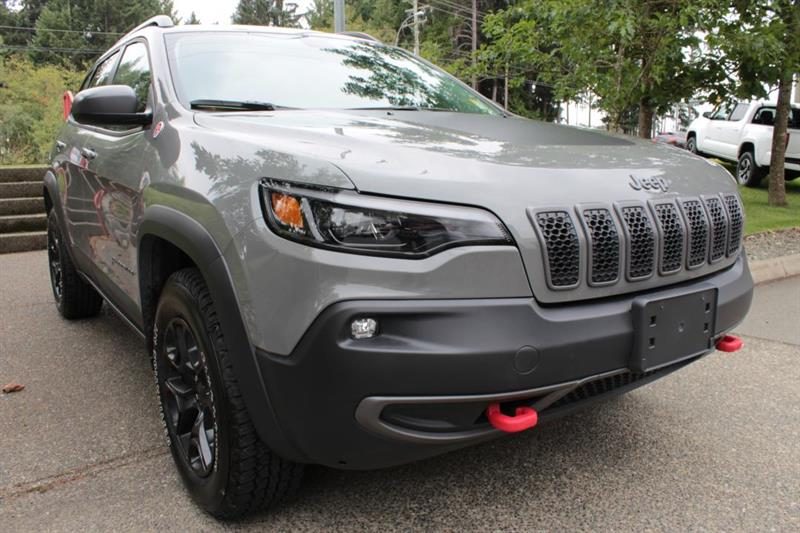 2019 Jeep Cherokee Leather. Navigation. Back-Up Camera #12468A (KEY 80)