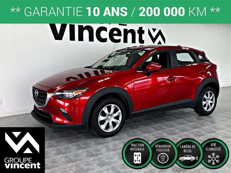 Mazda CX-3 2019 GX  AWD ** GARANTIE 10ANS ** #D-H8643M