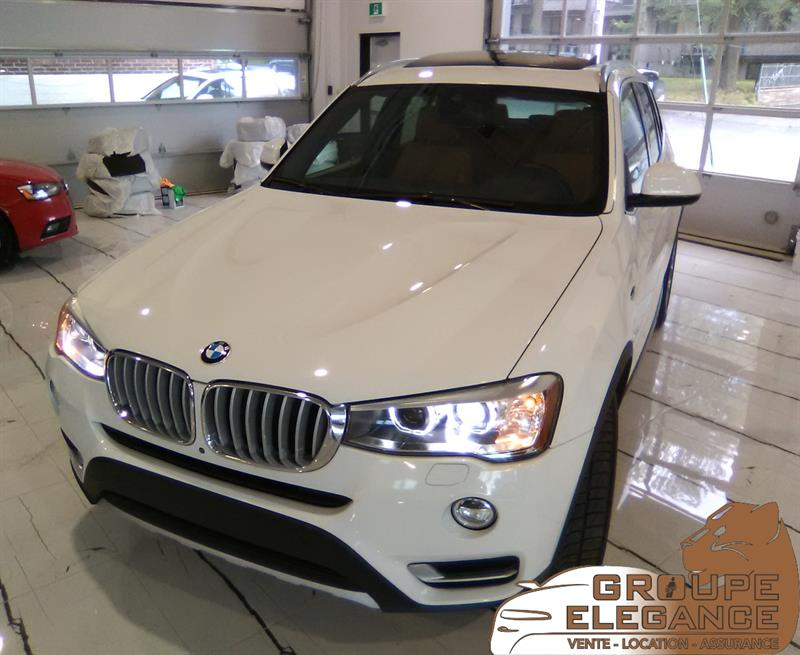 2016 BMW X3 XDrive 28I AWD PANORAMA ROOF, NAVIGATION, BACK UP