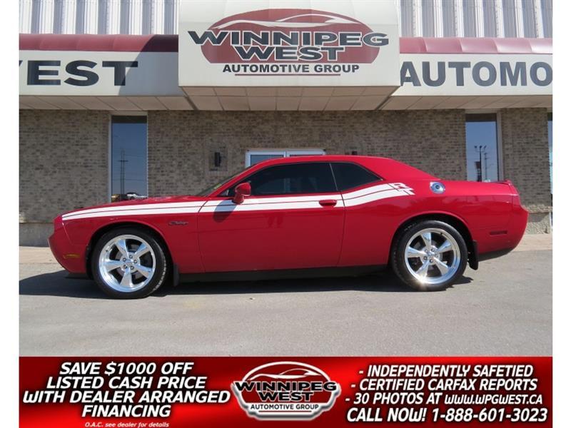 2013 Dodge Challenger R/T CLASSIC 5.7 HEMI 6SPEED WITH MODS, LIKE NEW! #W5213