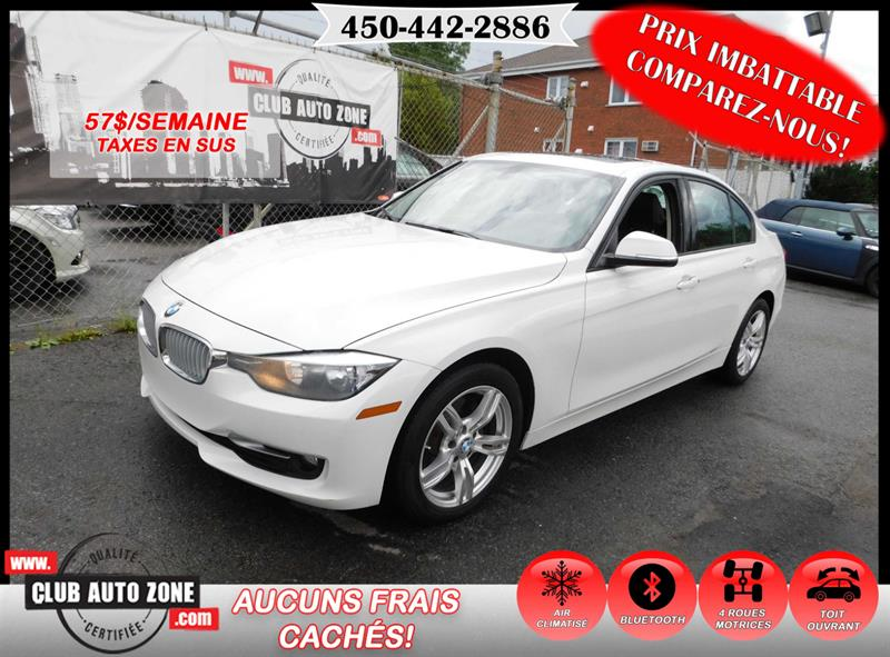 BMW 3 Series 2013 320i xDrive AWD AUTOMATIQUE TOIT OUVRANT #DF979041