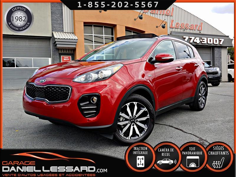Kia Sportage 2019 EX AWD, 000575KM!!!, CUIR, TOIT PANORAMIQUE, WOW #99453