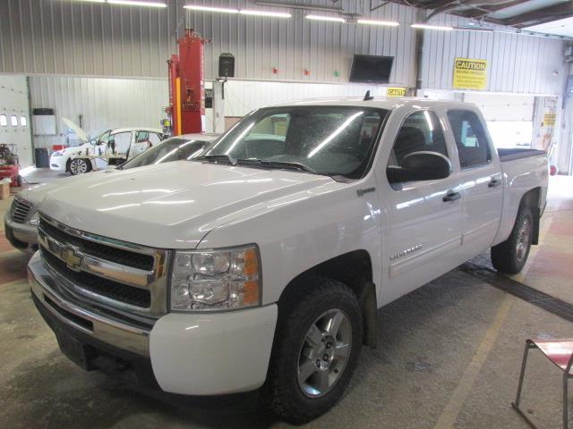 2011 Chevrolet Silverado 1500 4WD Crew Cab 143.5 Hybrid *Ltd Avail* #1145-2-66