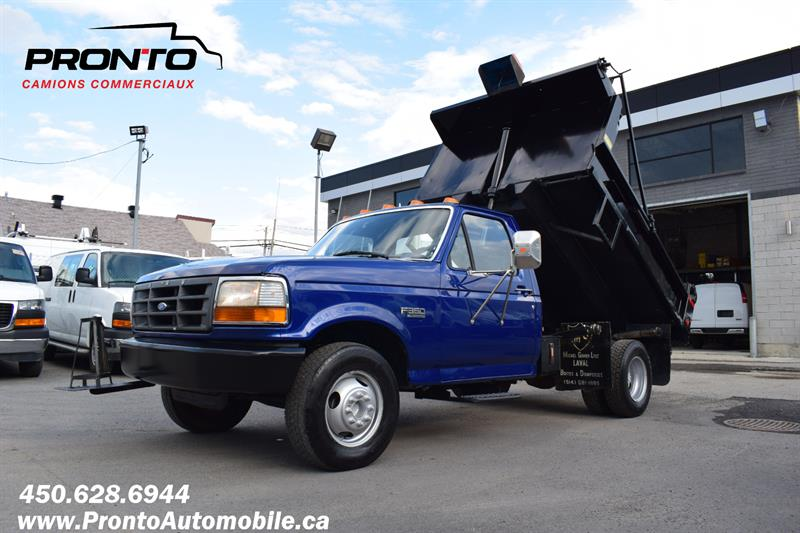 Ford F-350 Chassis Cab 1996 Reg Cab ** DIESEL ** BOITE DOMPEUR ** #1950