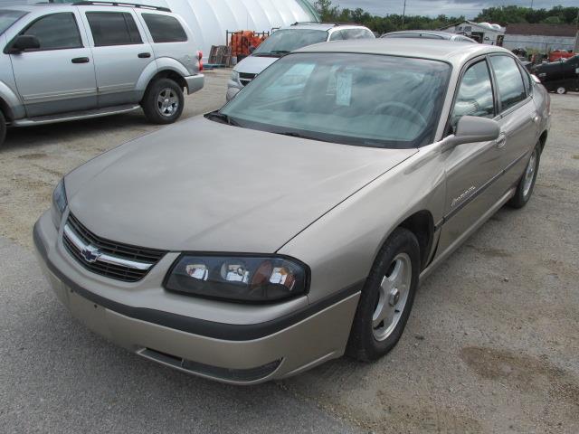 2002 Chevrolet Impala 4dr Sdn LS #1145-3-8