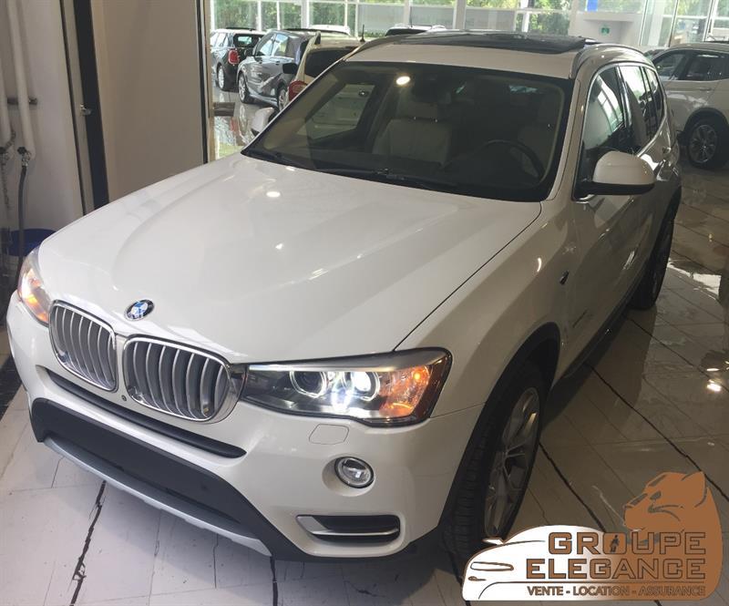 2016 BMW X3 AWD, XDrive28d,TECH& SPORT& PREMIUM PACKAGE, NAVI