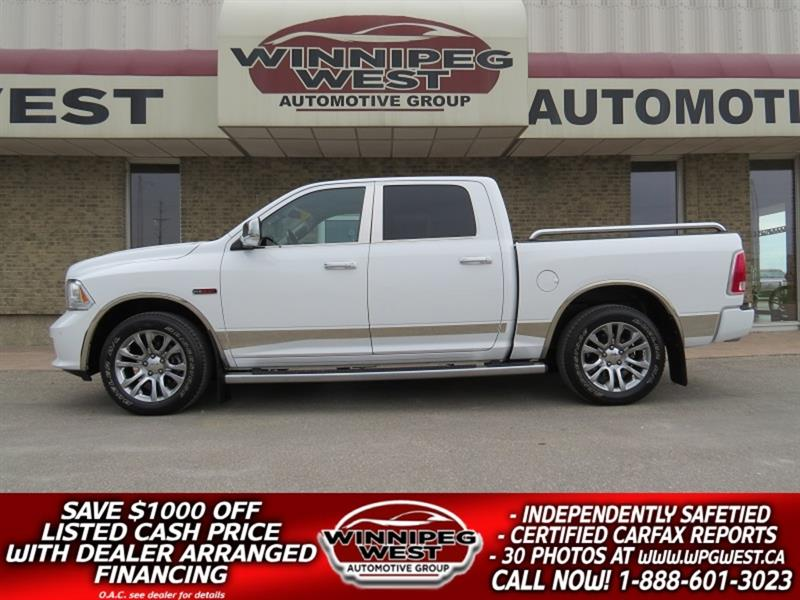 2015 Ram 1500 LIMITED EDITION ECODIESEL 4X4, FULL LOAD, LOW KM! #DW5178