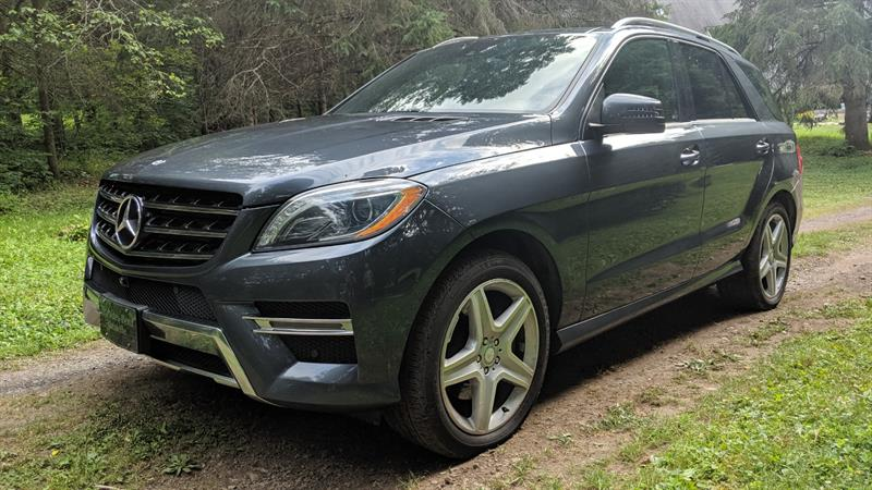 Mercedes-Benz ML350 2015 bluetech #A5928