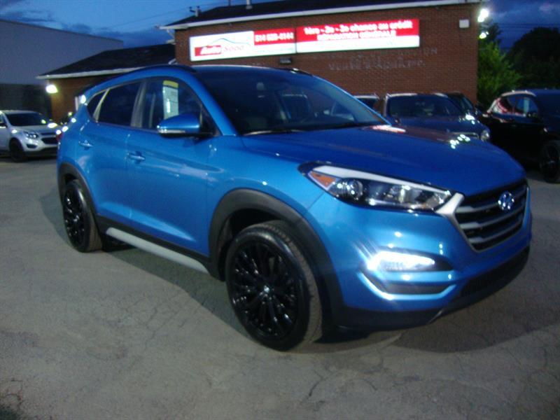 Hyundai Tucson 2017 AWD LIMITED 19MAGS-CUIR-2TOIT-NAVIGATION  #M0021