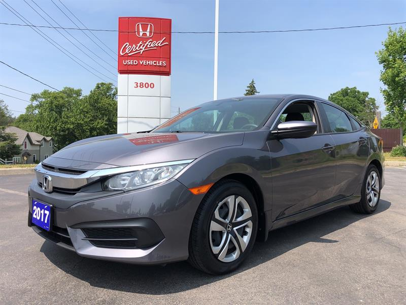 2017 Honda Civic LX #23934A