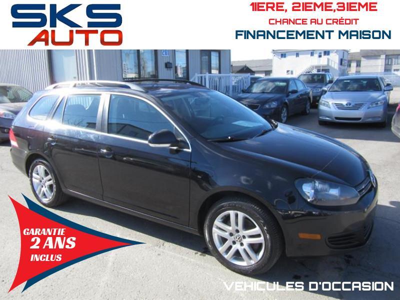 Volkswagen Golf Wagon 2011 (GARANTIE 2 ANS INCLUS) *FINANCEMENT MAISON* #SKS-4338-17