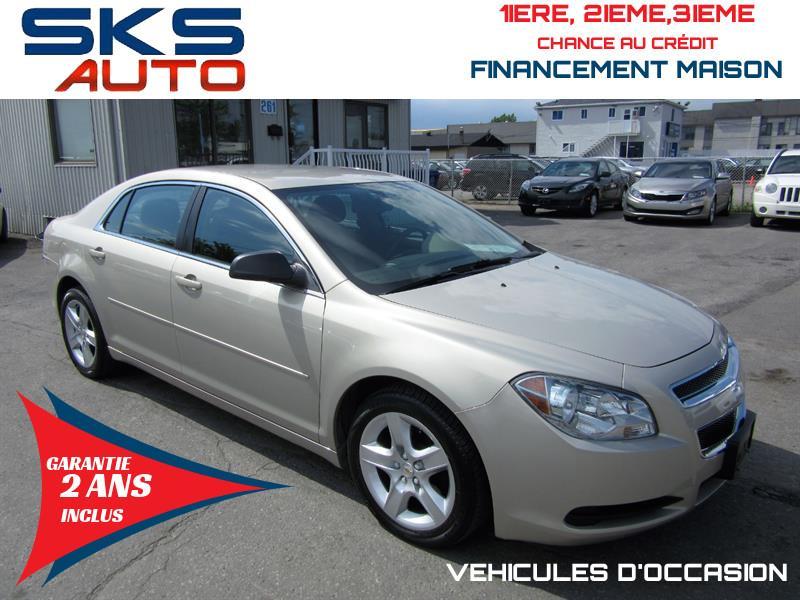 2011 Chevrolet Malibu LS (GARANTIE 2 ANS INCLUS) FINANCEMENT MAISON #SKS-4431-2