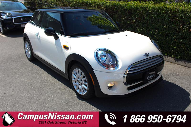 2015 Mini Cooper Hardtop Base FWD w/ Sunroof #9-F312A