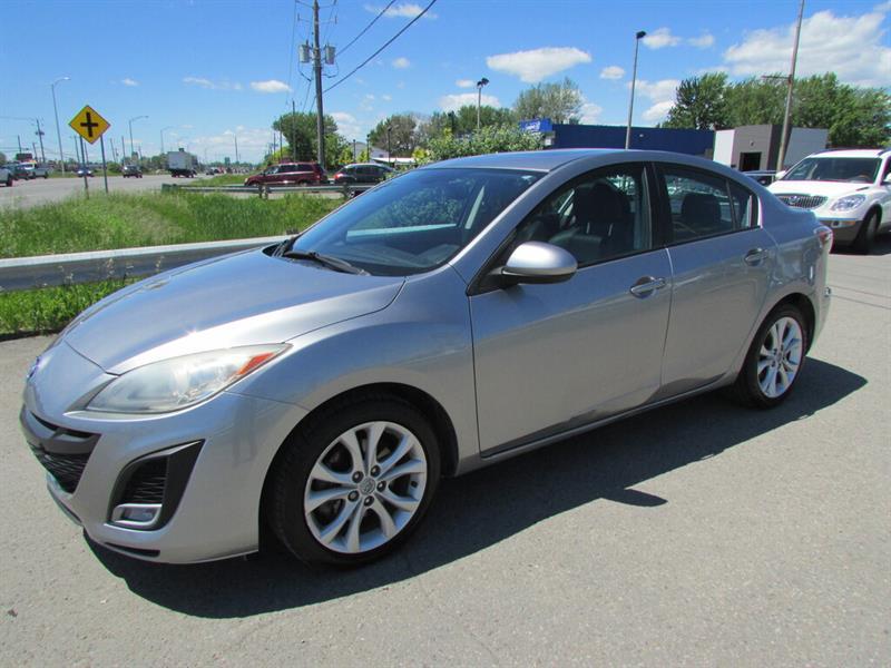 Mazda Mazda3 2011 MAN. GT CUIR TOIT OUVRANT!!! #4578