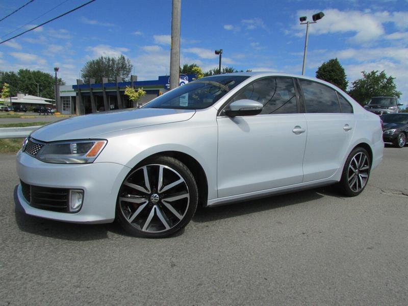 Volkswagen Jetta 2013 MAN. GLI BLUETOOTH TOIT OUVRANT CUIR!!! #4564
