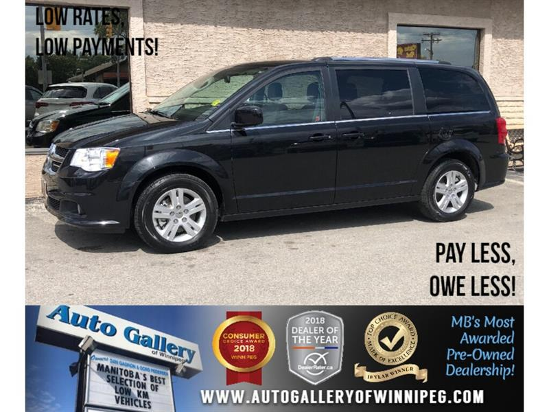 2018 Dodge Grand Caravan Crew Plus *Navi/B.tooth/Back.Cam/Power Doors #24019