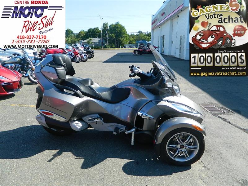 CANAM SPYDER RS 2011