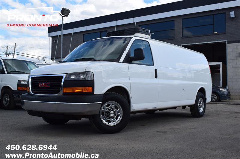 GMC Savana Cargo Van 2014 2500 ** REEFER ** ISOLÉ ** 4.8L **
