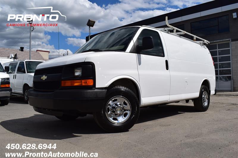 Chevrolet Express Cargo Van 2012 2500 ** Full rack ** Voir équipement **  #1957